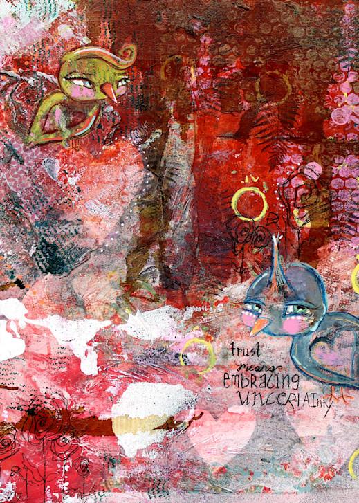 Trust Means Embracing Uncertainty Art | Roost Studios, Inc.