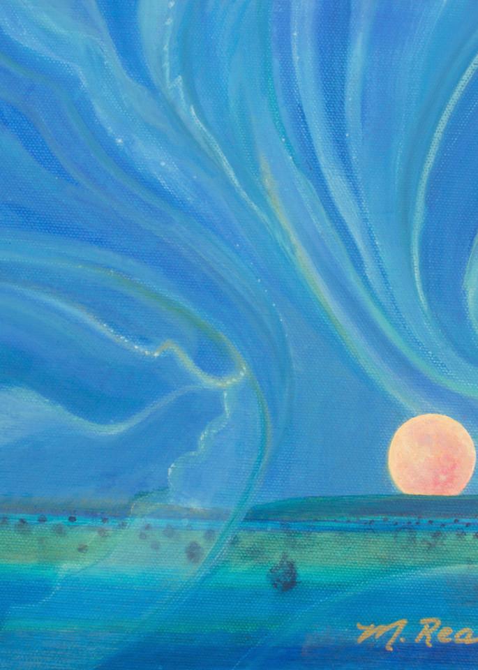 Moon Melody I  Art | Marilyn Rea Nasky Art