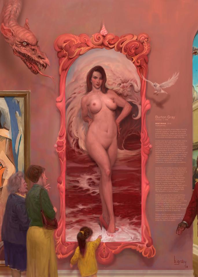 Burton Gray's Meat Venus full image