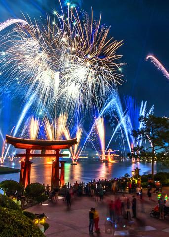 Epcot Fireworks Spectacular 4 - Disney Landscape | William Drew