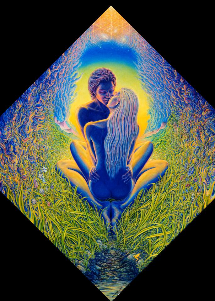Between Worlds Custom Print Art   markhensonart