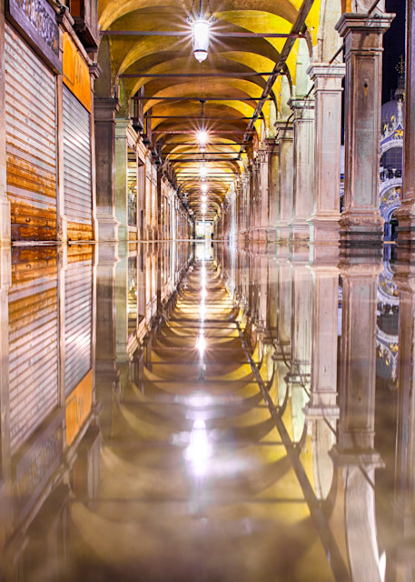 St Mark's Square Reflections | Urban Art Photography Print