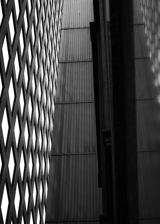 Architectural Shadows | Black and White Architecture Photography
