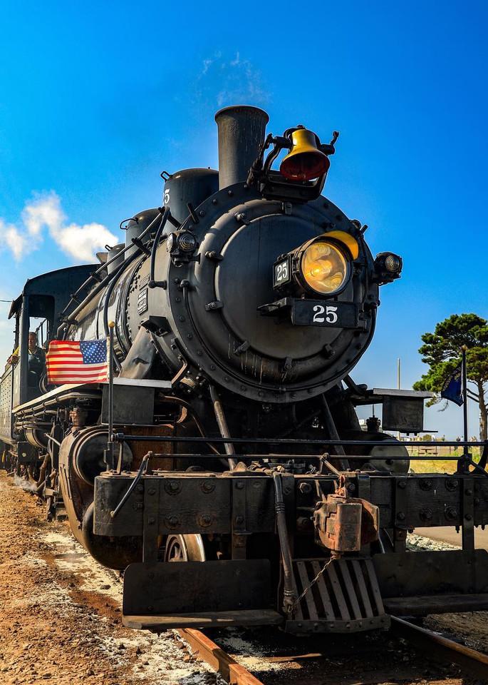 Steam Locomotive Photograph Art Photography Art | Photos by Angie B