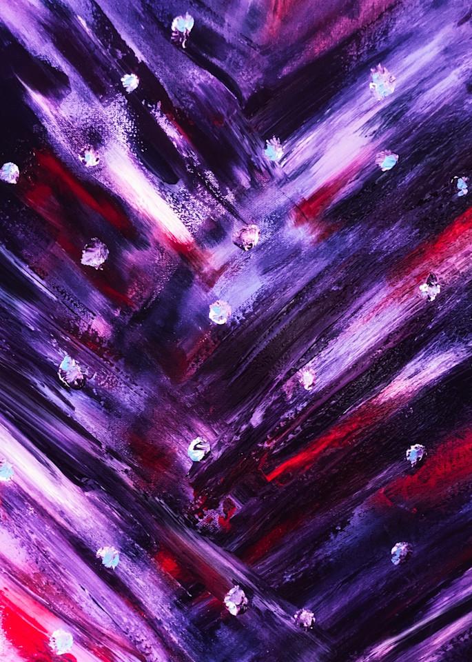 Purple Linear Haze