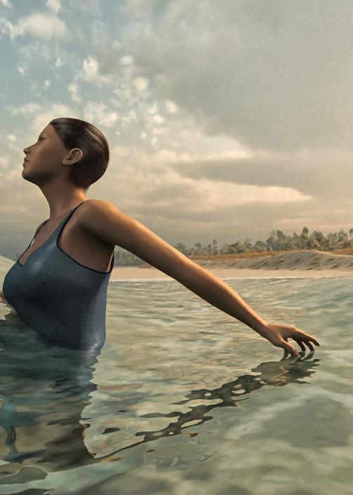 The Bather | Cynthia Decker