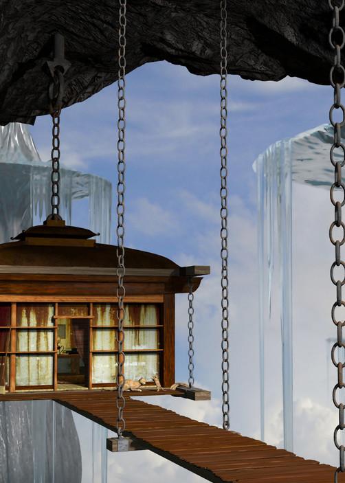 Hanging House | Cynthia Decker