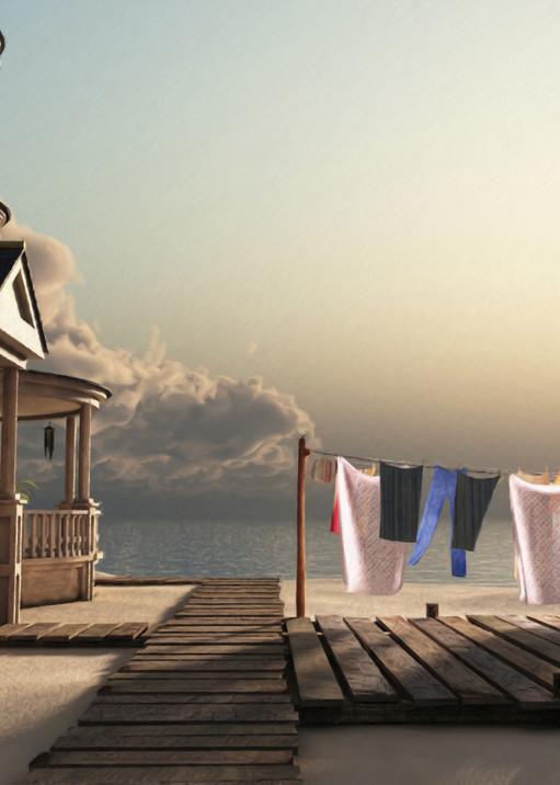 Laundry Day | Cynthia Decker