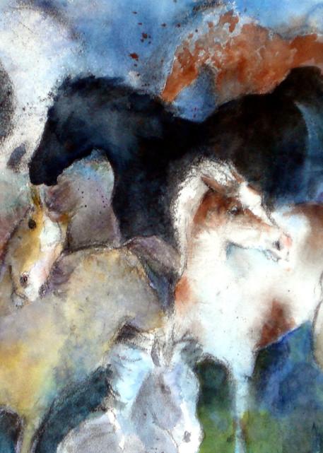 Dream Of Wild Horses Art | Bright Spirit Studio