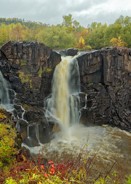 High Falls Pigeon River Photography Art | Dale Yakaites Photography