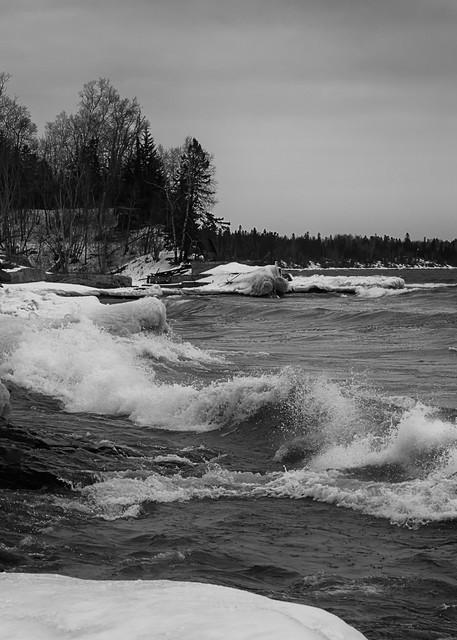 Lake Superior Surf Photography Art   Dale Yakaites Photography
