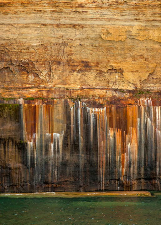 Tears Of Pictured Rocks Photography Art | Dale Yakaites Photography
