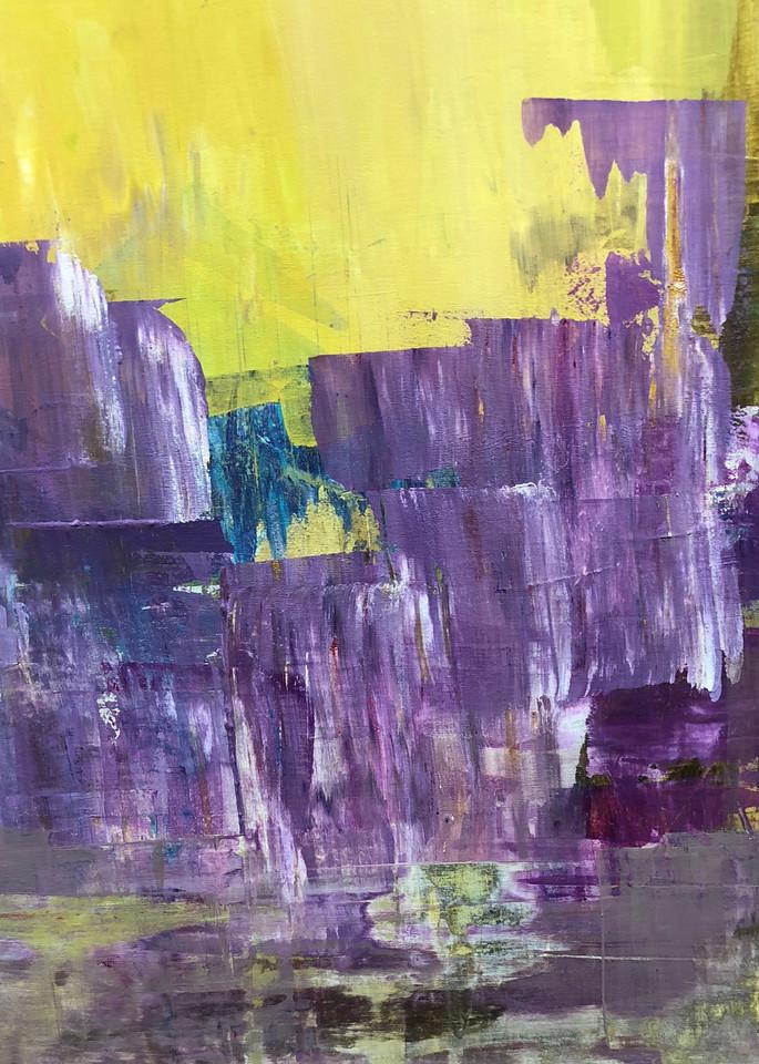 Abstracted: Amethyst Cliffs Art | Studio Artistica