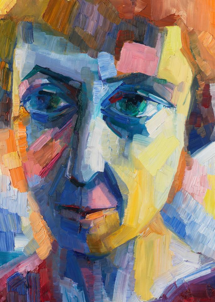 They Call Me Marina (Portrait Of Marina Tsvetaeva) Art | Sonnets in colour