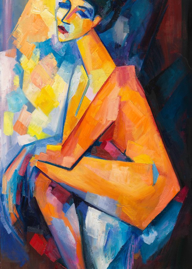 Sarah (After Amadeo Modigliani) Art | Sonnets in colour