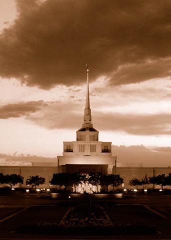 Billings Temple - Panoramic