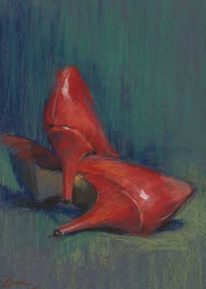 Available Now Only As A Print   Red Shoes 15 Art | Bkern Fine Art