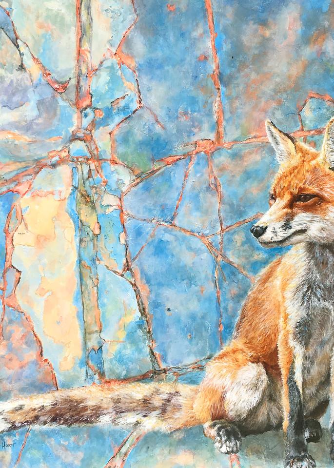 Neon Fox by Rachel Hurst