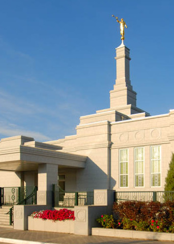 Edmonton Temple - Panoramic by Day
