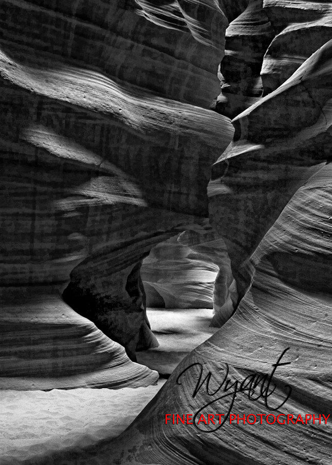 Canyon Walls Black and White:  Shop Fine Art Photography | Jim Wyant, Master Craftsman (317)663-4798