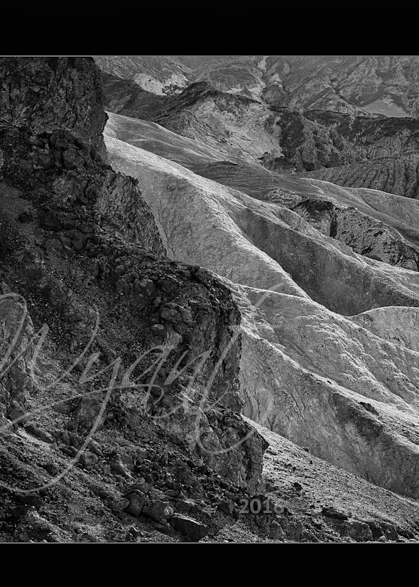 Death Valley Layers in Black and White:  Shop Fine Art Photography   Jim Wyant, Master Craftsman (317)663-4798
