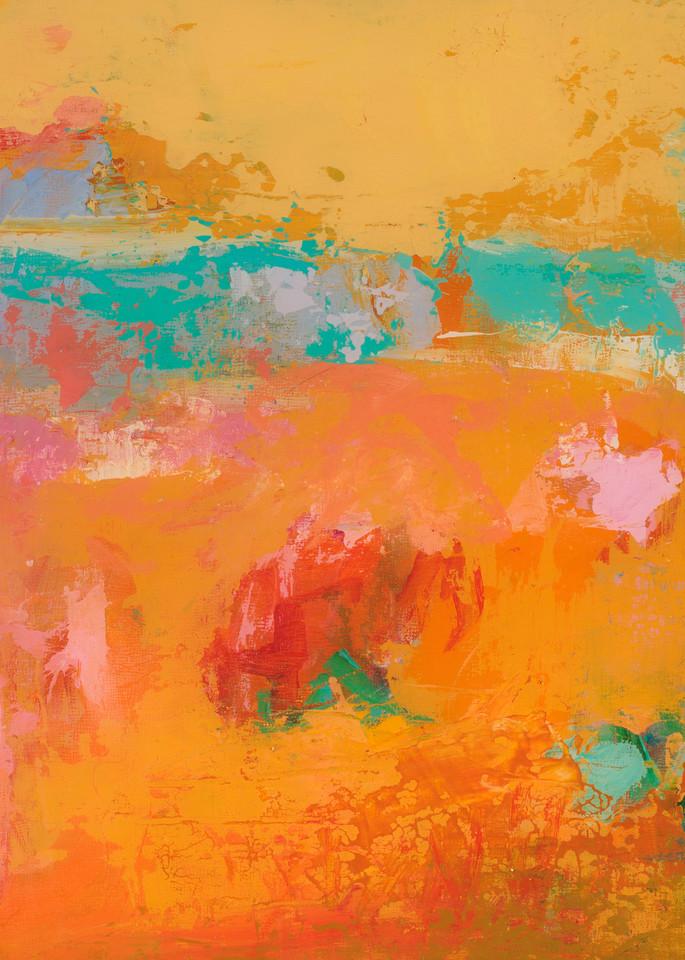 Bright Colored Santa Fe Abstract Painting