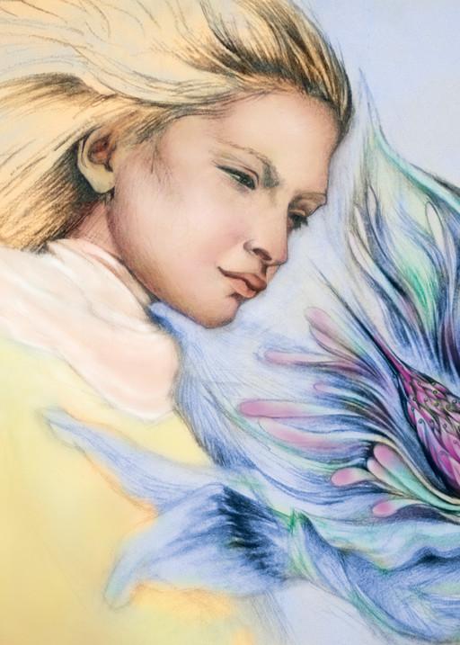 Forbidden Flower Art | Joan Marie Art
