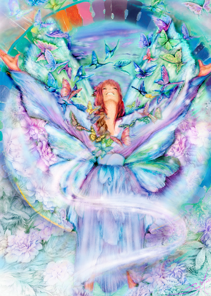 Blissful Heart Art | Joan Marie Art