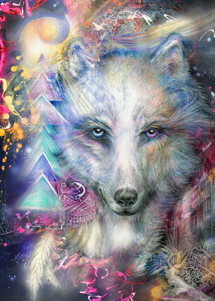 Spirit Protector Art | Joan Marie Art
