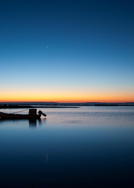 Eastpoint Florida Sunrise Oyster Boats