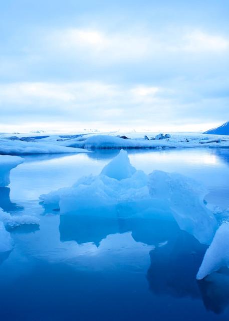 Ice Float - Glacier Lagoon Jokulsarlon Iceland | Limited Edition