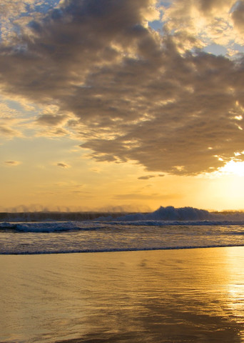 Celestial Sunset - Double Six Beach Seminyak Bali Indonesia   Sunset