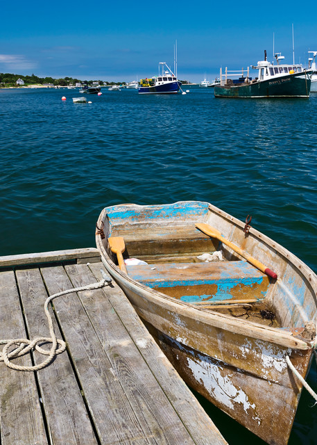 """Chatham Harbor Summer Afternoon"" Cape Cod Coastal Fine Art Photography"