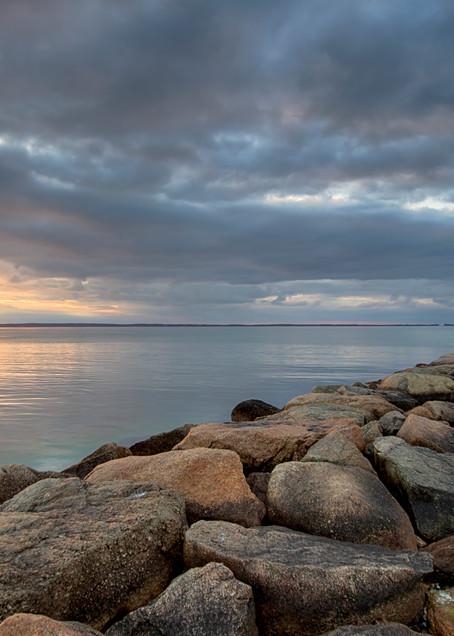 Tashmoo Jetty Sunset Art | Michael Blanchard Inspirational Photography - Crossroads Gallery