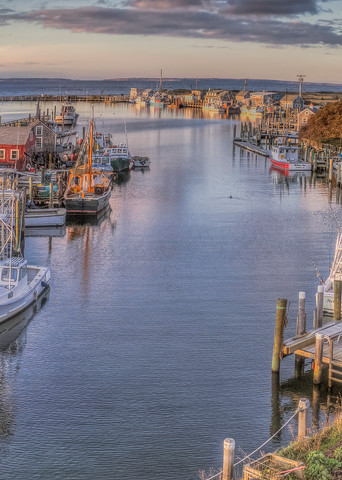 Menemsha Aerial Art | Michael Blanchard Inspirational Photography - Crossroads Gallery