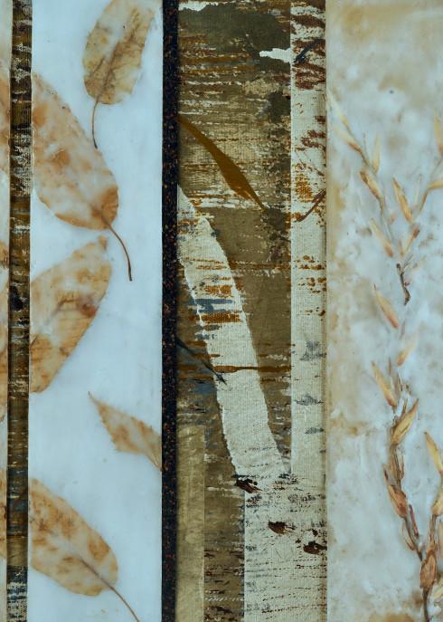 Linear Leaves  (Print) Art   Laurie Fields Studio