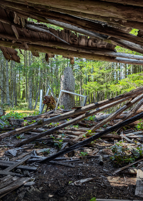Cabin Surrendered Art | James Alfred Friesen