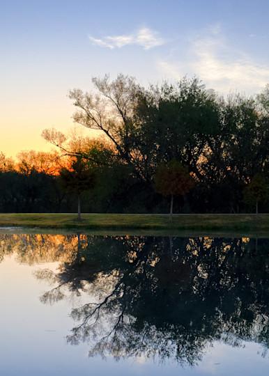 Sunrise Over Roanoke 2 Photography Art | Drone Video TX