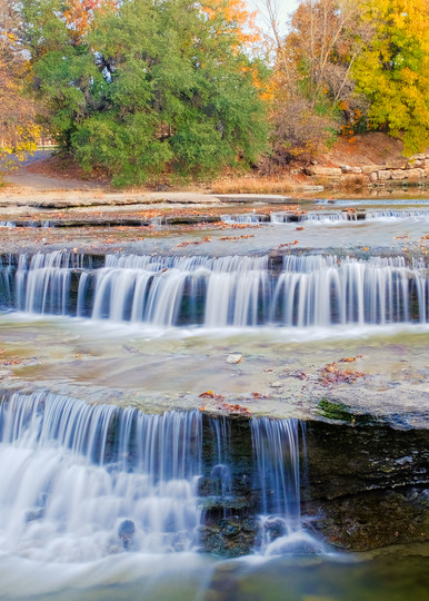 Waterfalls at Airfield Water Conservation Park - 2