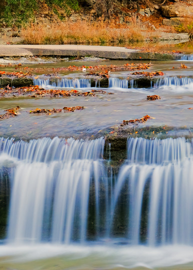 Waterfalls at Airfield Water Conservation Park - 13