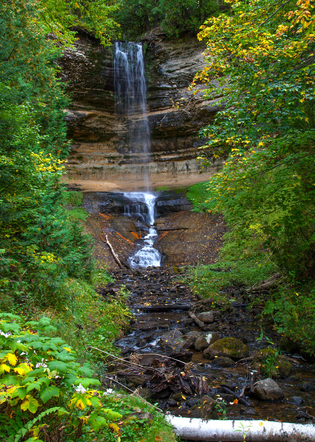 Munising Falls Photography Art | Dale Yakaites Photography