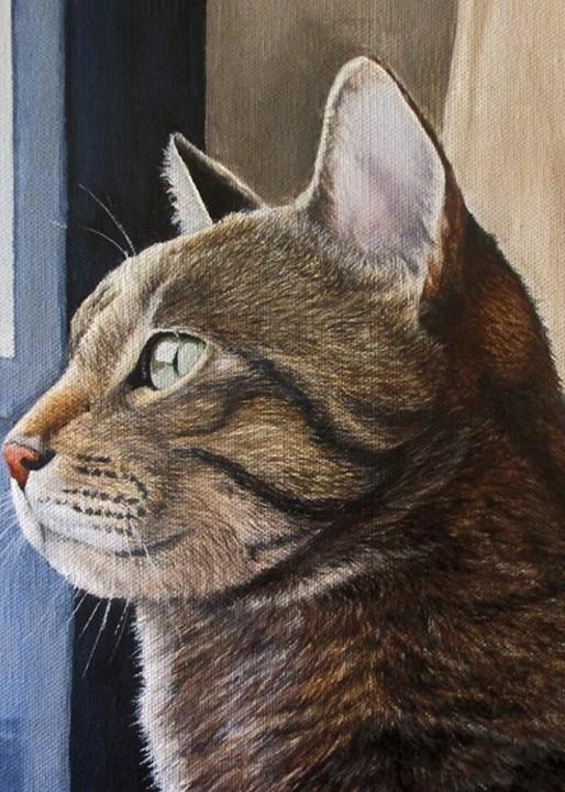 Through The Blue Door Art   Lori Vogel Studio