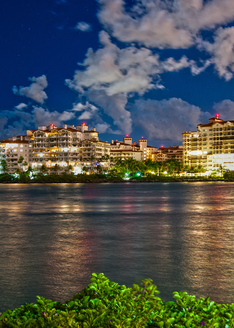 Fisher Island from South Beach