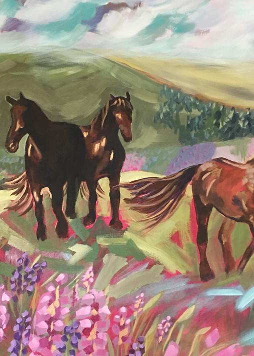 Flower Fields Forever Art | Kristin Webster Art Studio