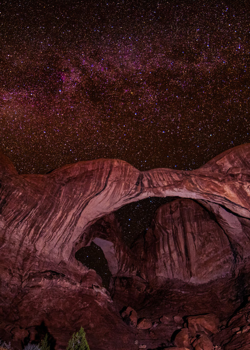 Milky Way Double Arch photography