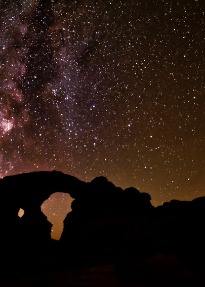 Galactic Turret Arch photography