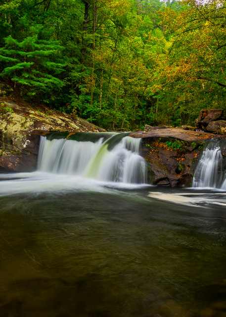 Tellico River Baby Falls photography