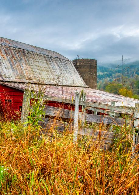 Old Smoky Mountains barn photography