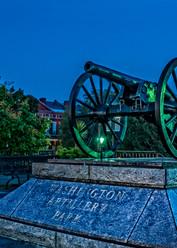 Washington Artillery Park in New Orleans