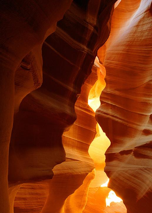 Antelope Canyon - Entrance Pano Photo Print